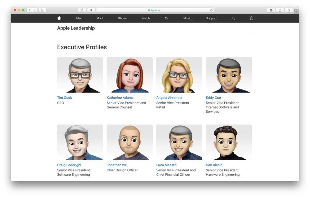Apple dirigenti Memoji World Emoji Day