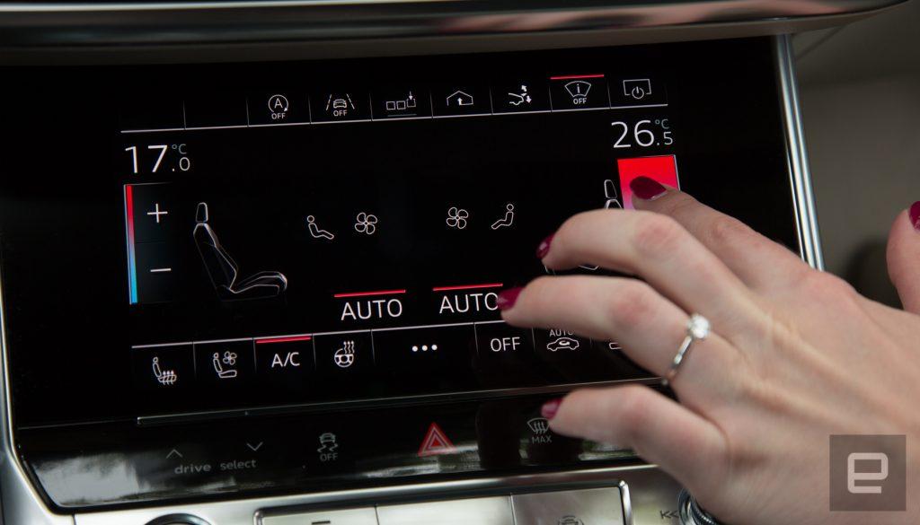 Tutte le novità del nuovo sistema MMI Touch Response di Audi 2