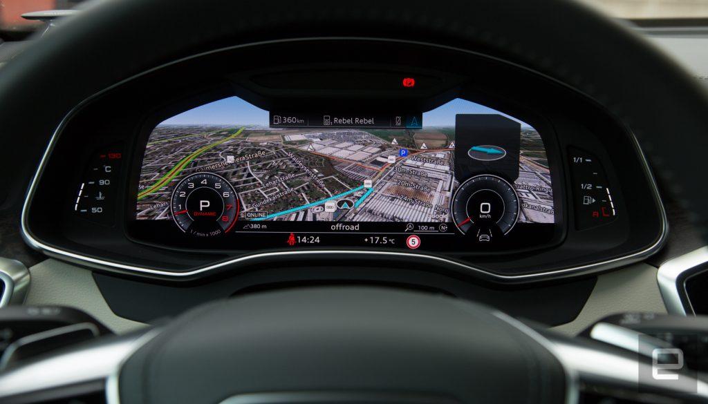 Tutte le novità del nuovo sistema MMI Touch Response di Audi 3