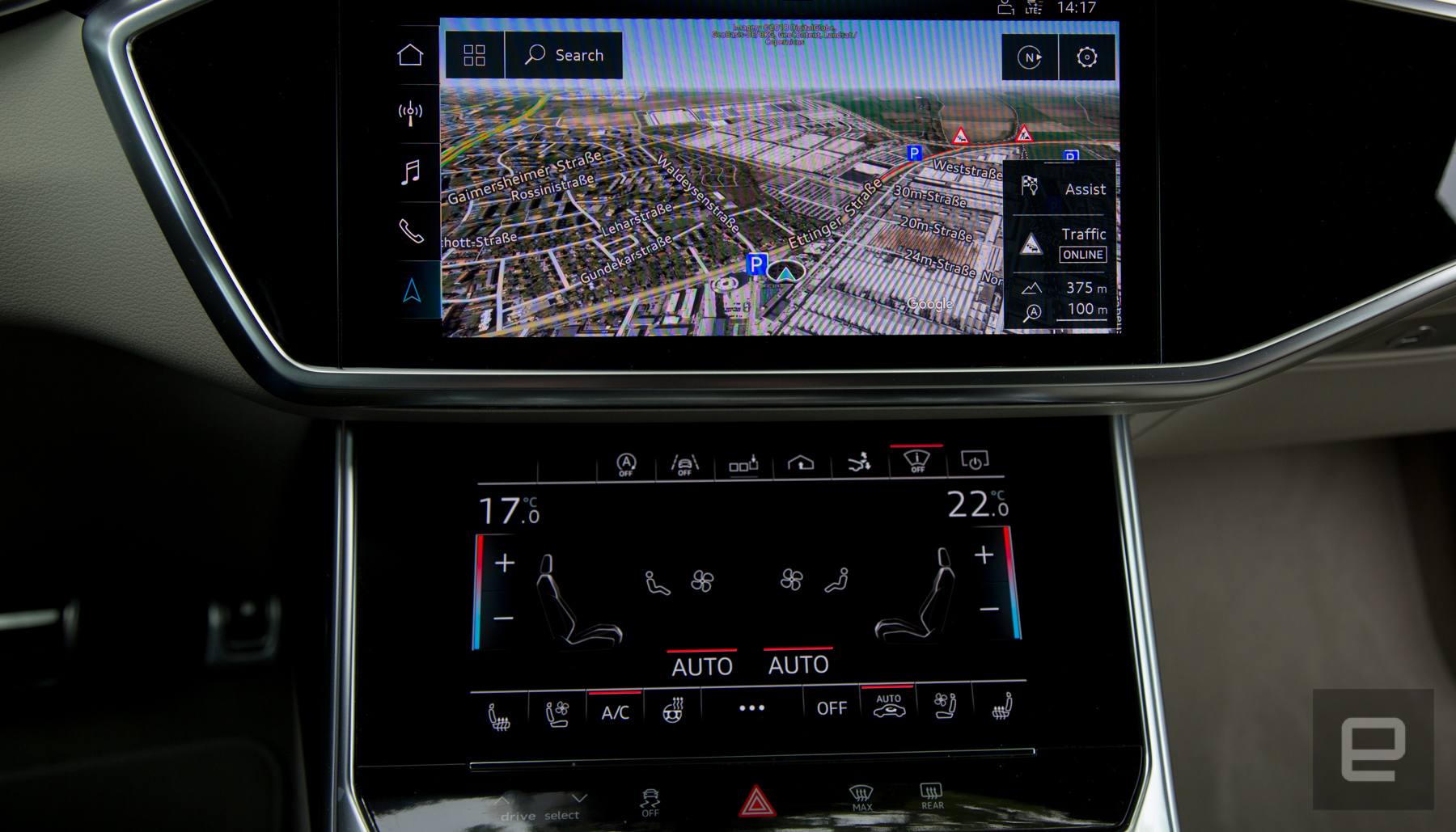 Audi MMI Touch Response