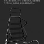 Xiaomi punta decisamente ai gamers con la nuova sedia AutoFull Gaming Chair 2
