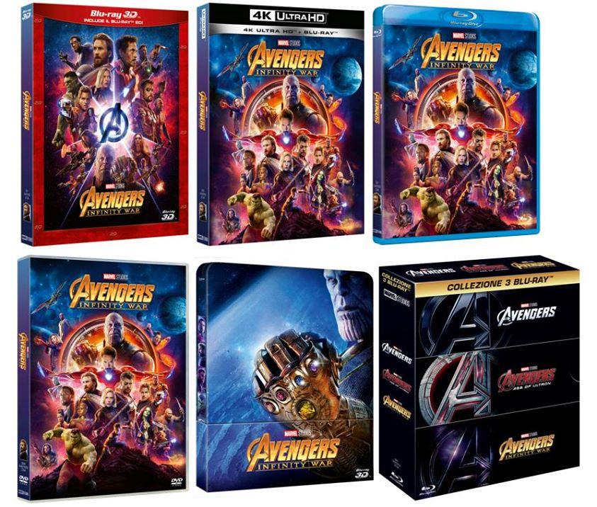 Avengers- Infinity War formati