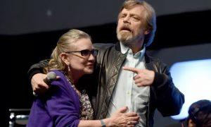 Carrie Fisher e Mark Hamill Star Wars Episodio IX