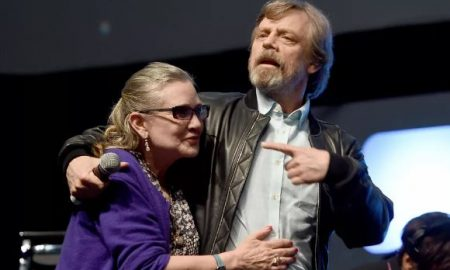 Carrie Fisher e Mark Hamill Star Wars Episodio IX