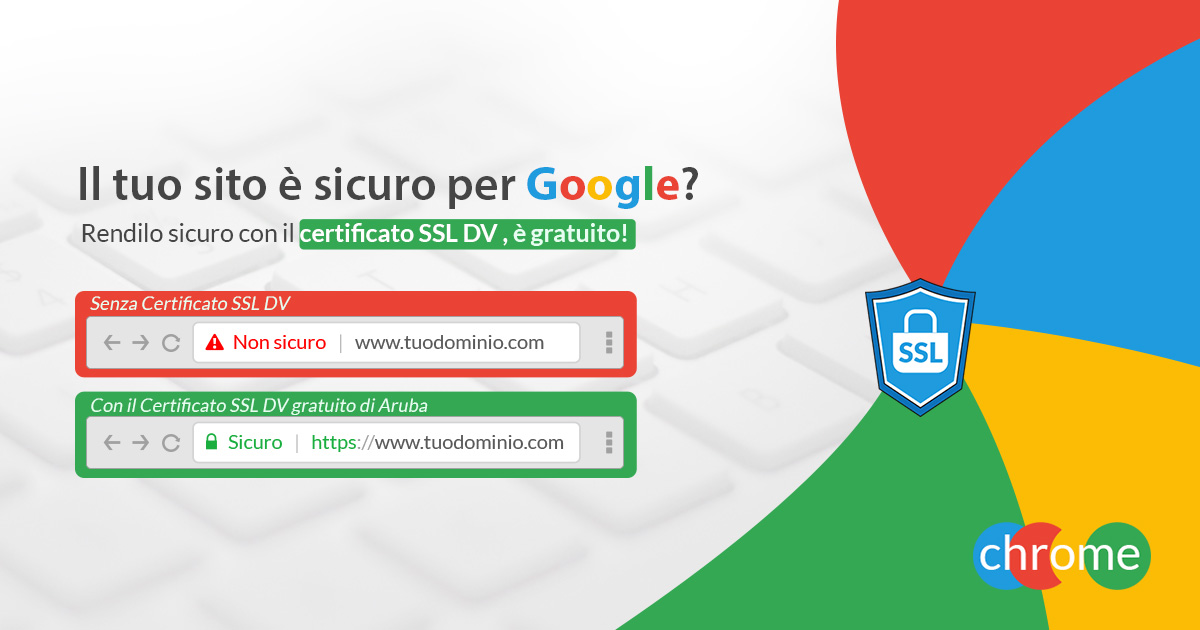 Certificato SSL Google Chrome