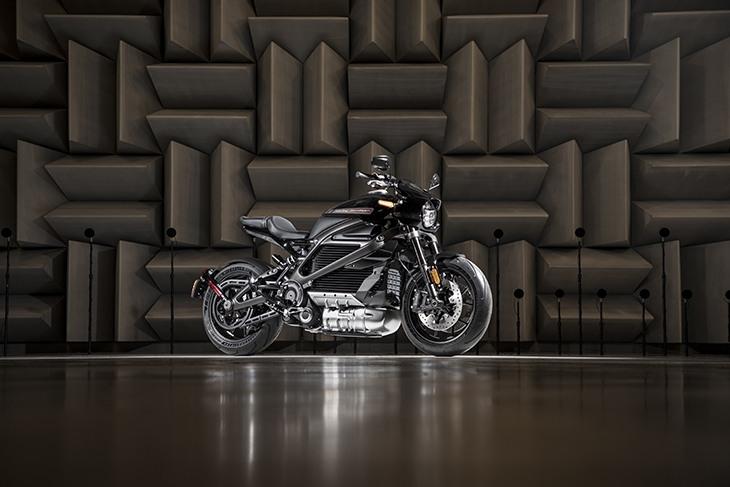 Harley-Davidson Project LiveWire motocicletta elettrica