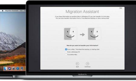 MacBook Pro Migration Assist