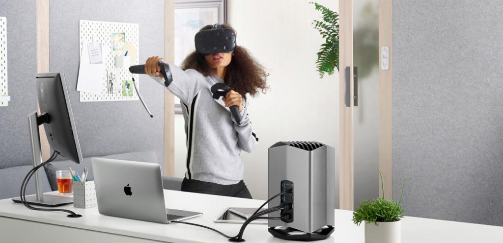 MacBook Pro eGPU VR