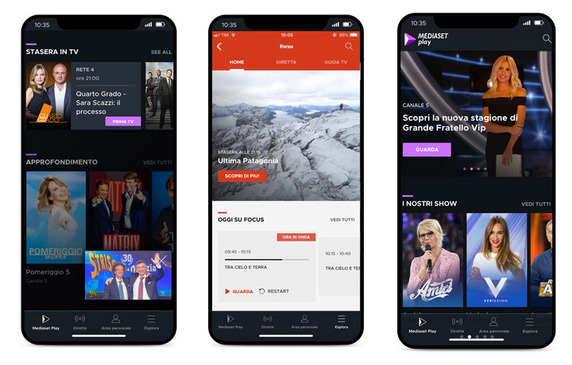Mediaset Play finalmente disponibile per Smart TV, smartphone, tablet e web 1