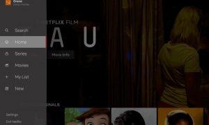 Netflix nuova UI