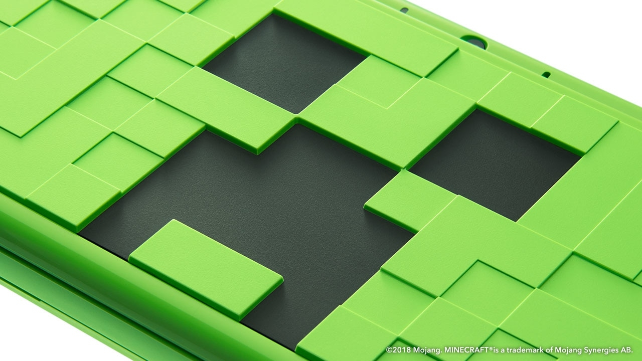 Nintendo 2DS XL Minecraft