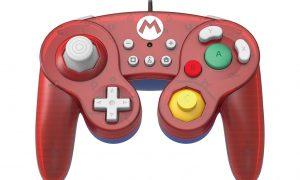 Nintendo Switch controller Mario