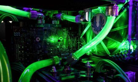 PC Raffreddamento con cristallo