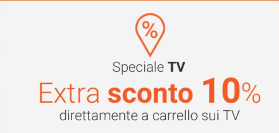 Monclick Speciale TV, 10% di sconto su tanti modelli 1