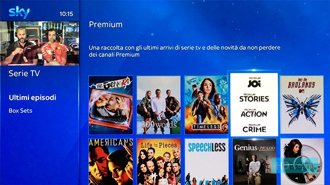 Sky On Demand Mediaset Premium