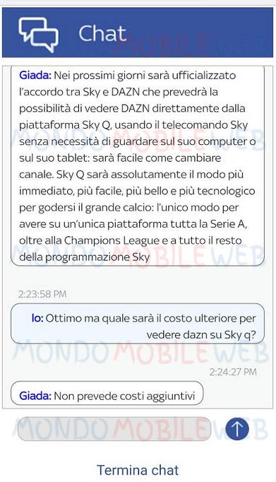 Sky Q Dazn Sky Calcio