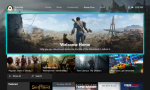 Xbox One nuova dashboard