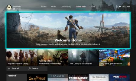 Xbox One nuova dashboard