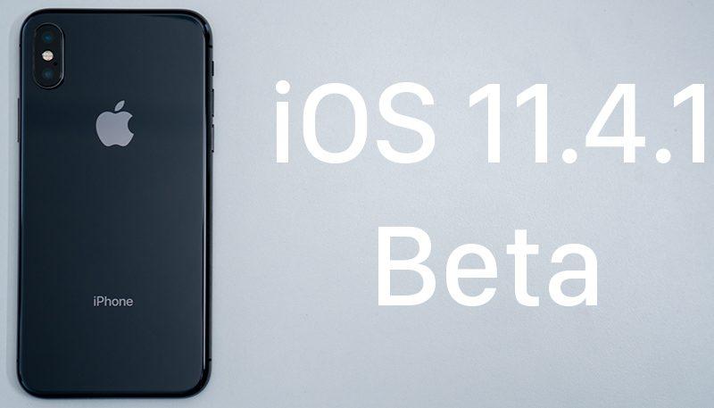 iOS 11.4.1 beta