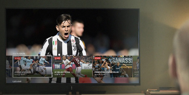 DAZN Sere A streaming