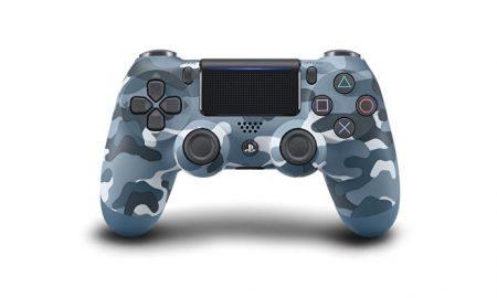 DualShock 4 Bloue Camouflage