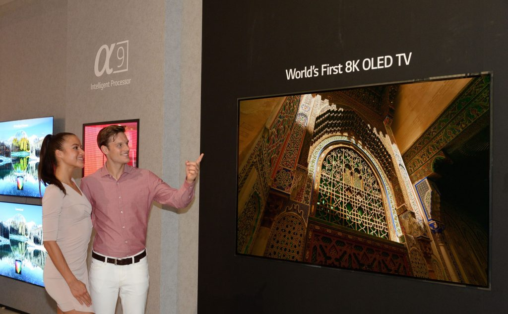 LG Smart TV OLED 8K