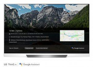 LG Smart TV ThinQ Google Assistant