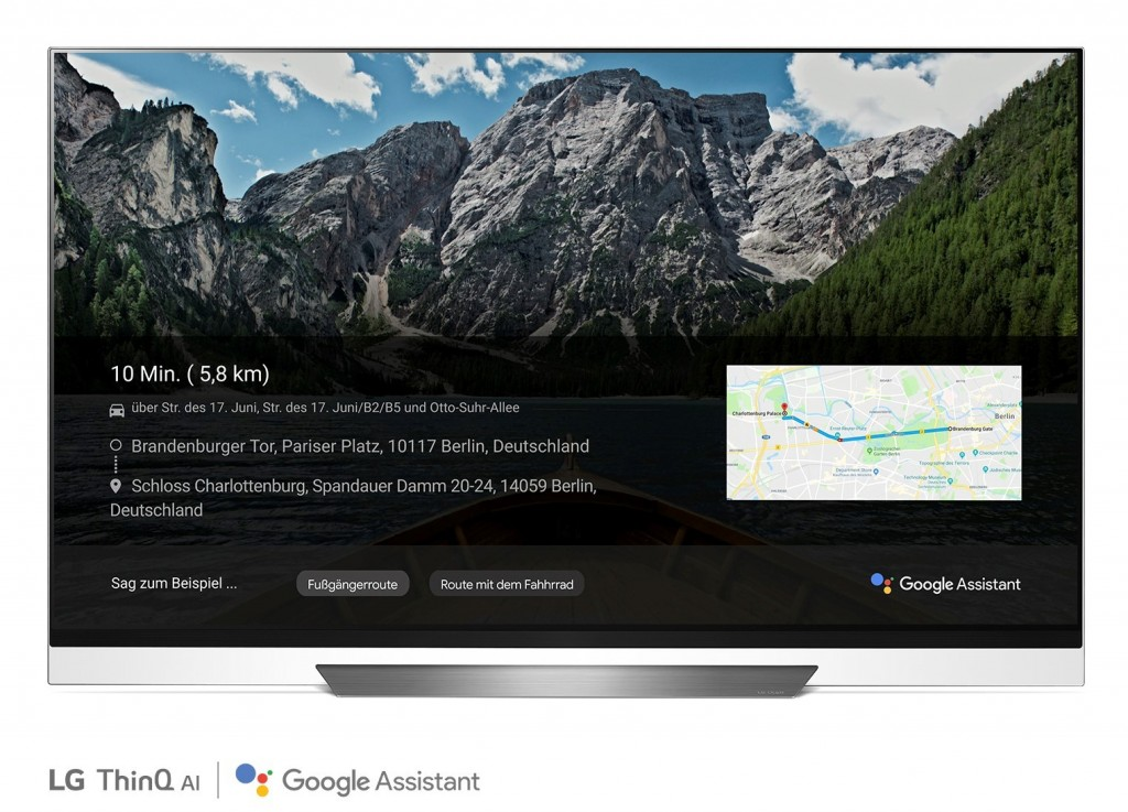 LG Smart TV ThinQ Google Assistant