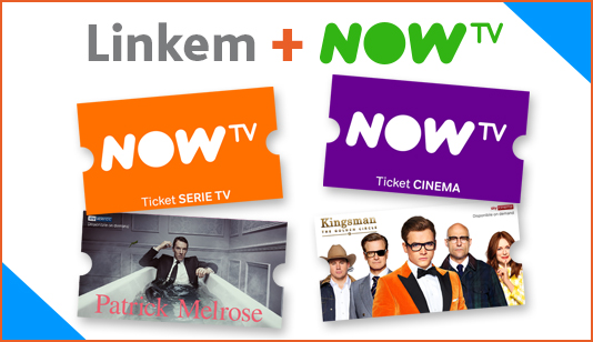Linkem e NOW TV