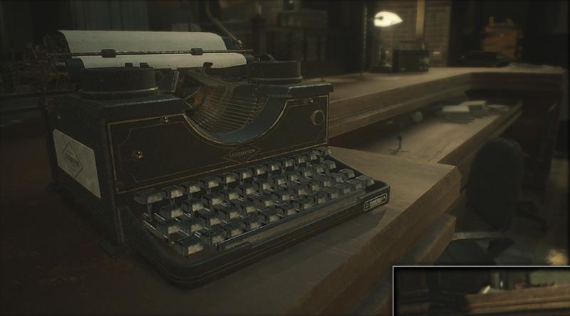 Resident Evil 2, l'iconica macchina da scrivere è diventata un gadget Bluetooth vero e proprio 1