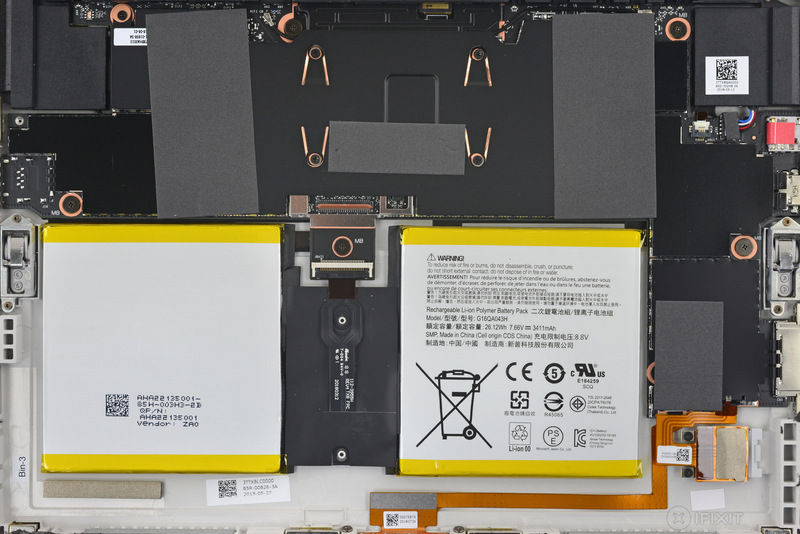 Utilizzate gli interni del Microsoft Surface Go come sfondo 2
