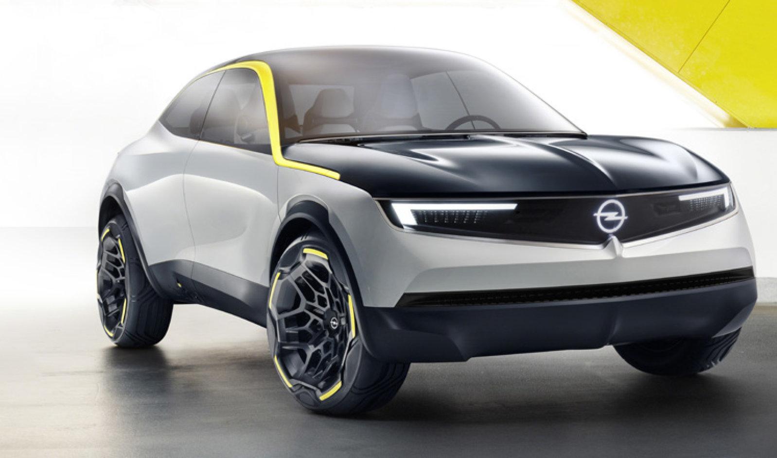 OpelGT X Experimental auto elettriche