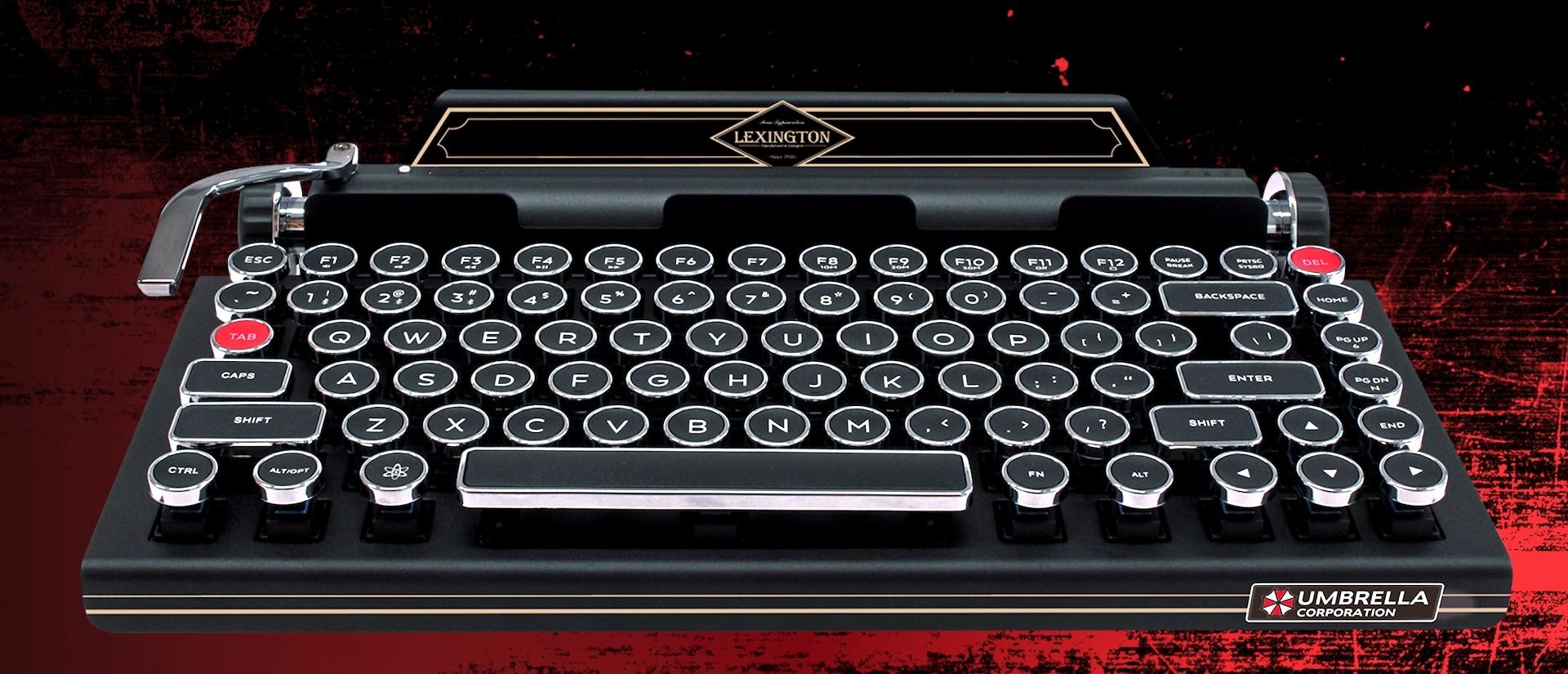 Resident Evil 2 macchina da scrivere