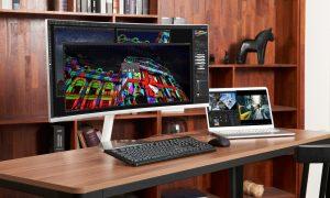 Samsung monitor curvo QLED CJ19 Thunderbolt 3