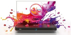 Sky Q 4K HDR Serie A