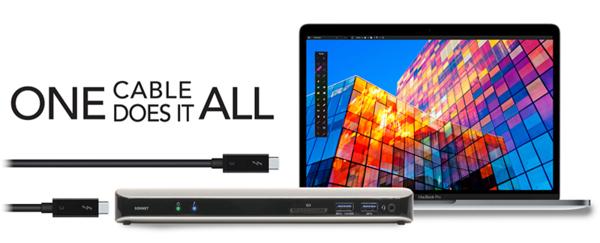 Sonnet Echo 11, la docking station Thunderbolt 3 definitiva per i MacBook Pro 3