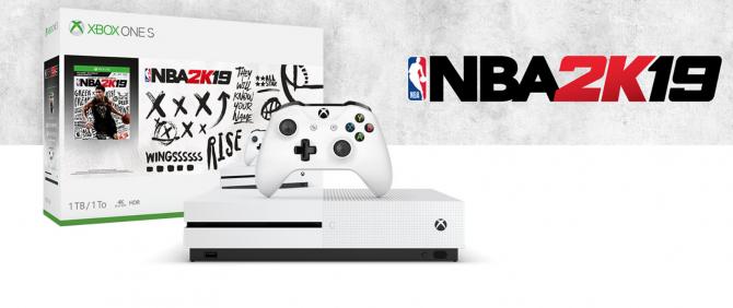 Xbox One S e NBA 2k19