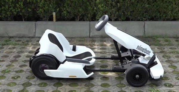 Con lo XiaomiNinebot Gokart Kit trasformerete il vostro Segway in un go-kart 2