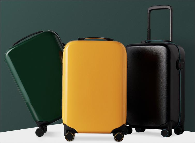 Xiaomi valigia smart sensore di imprnte