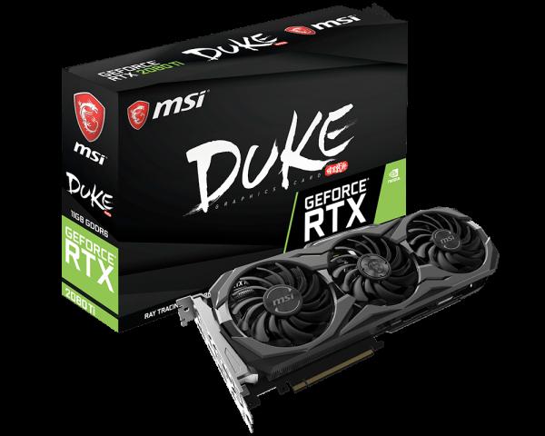 MSI annuncia le versioni GAMING TRIO, DUKE, SEA HAWK, VENTUS e AERO delle Nvidia GeForce RTX 2080 e 2080 Ti 2