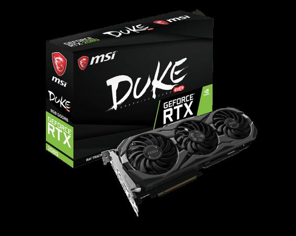 MSI annuncia le versioni GAMING TRIO, DUKE, SEA HAWK, VENTUS e AERO delle Nvidia GeForce RTX 2080 e 2080 Ti 4