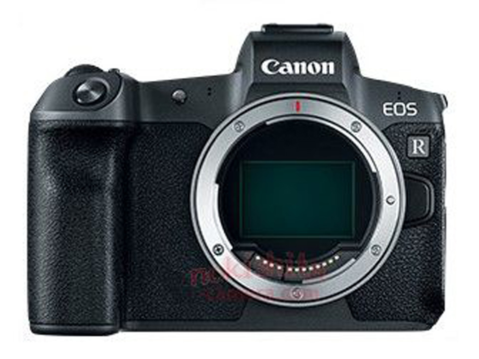 Canon EOS R mirrorless full frame