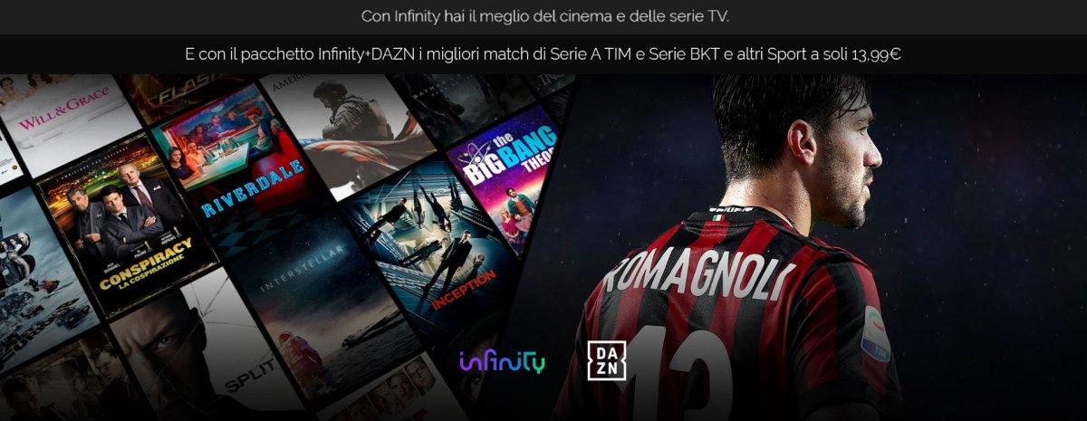 DAZN + Infinity TV