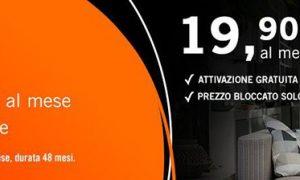Fibra Infostrada 1 Gbps a 19,90 euro