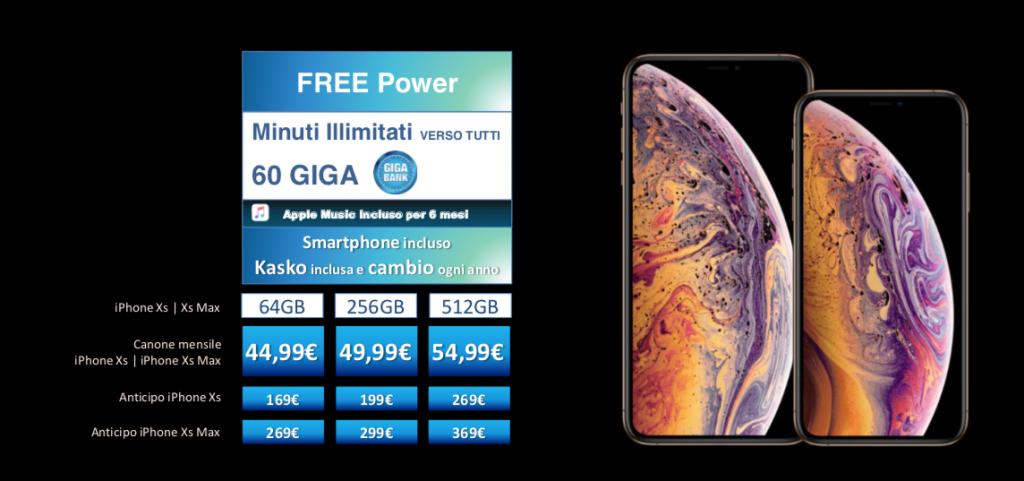 Costi e promozioni per acquistare iPhone Xs e iPhone Xs Max con Wind e Tre 4