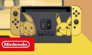 Nintendo Switch Edizione Speciale Pokemon Let's Go, Pikachu! e Let's Go, Eevee!