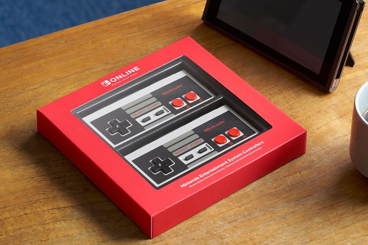 Nintendo Switch controller NES