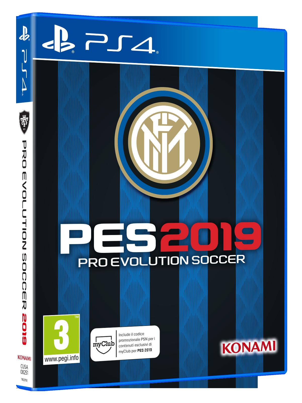 PES 2019 - Inter Edition disponibile all'acquisto in esclusiva da Gamestop 1