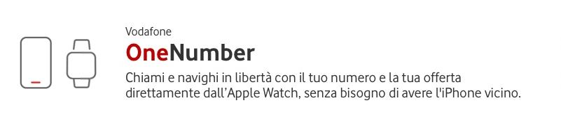 Apple Watch Series 4 LTE e Vodafone OneNumber, unico numero e massima flessibilità 1