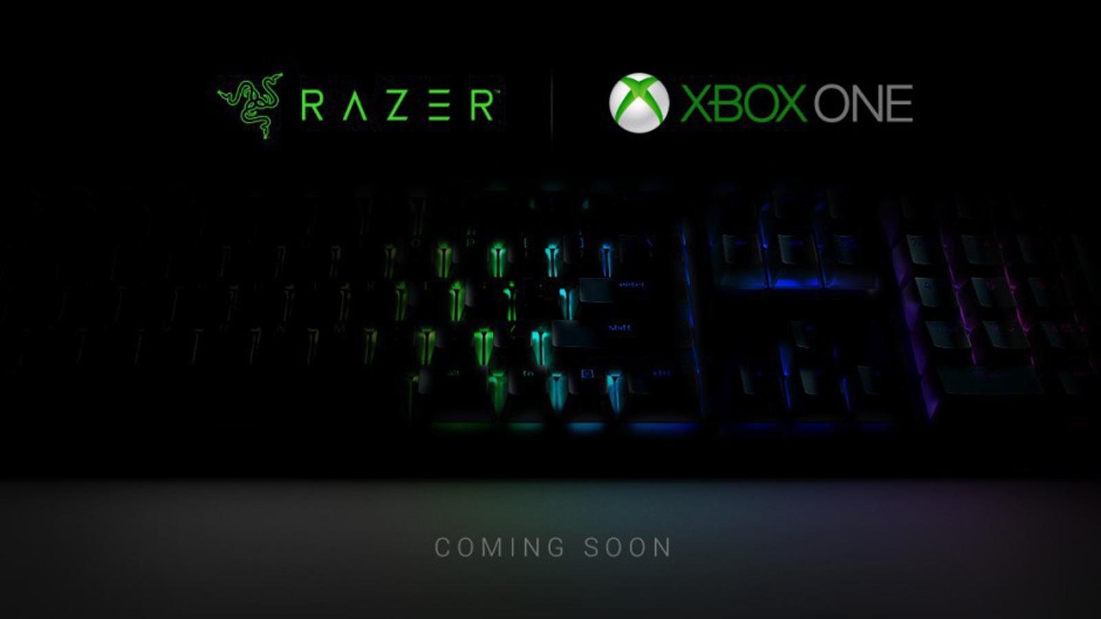 Xbox One Razer supporto mouse e tastiera
